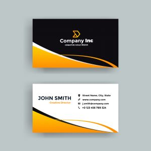 cool-orange-and-black-business-card